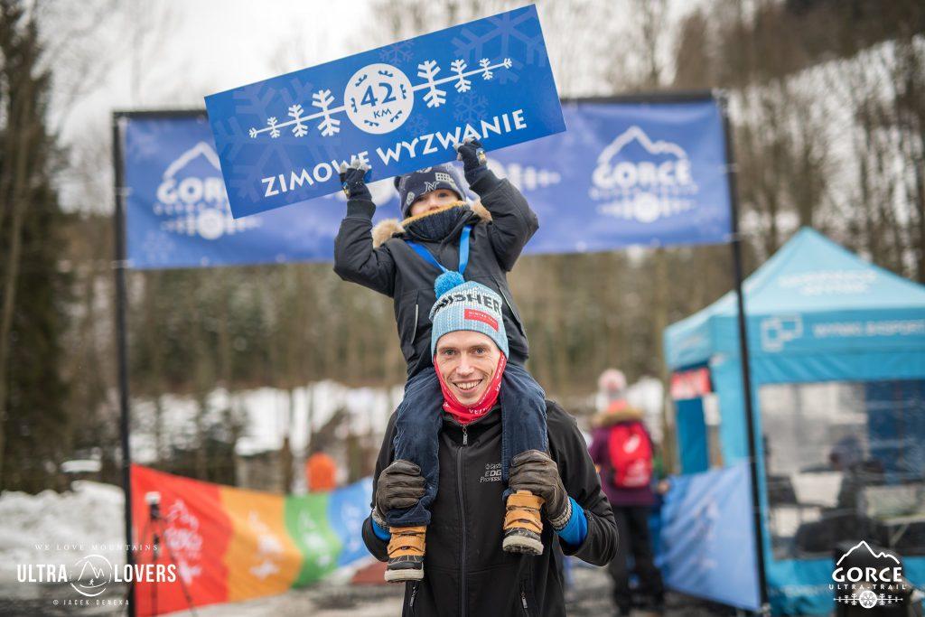 Gorce Ultra Trail Winter Teamplutt meta Jacek Deneka