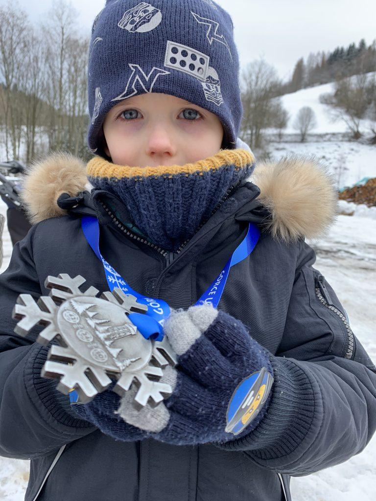Teamplutt medal GUT Winter