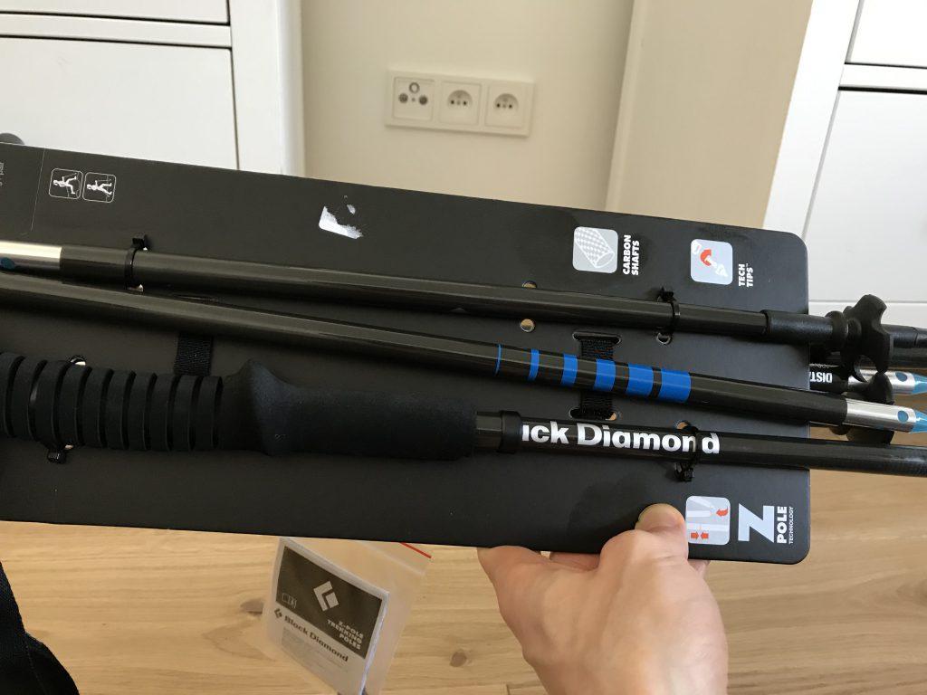 TeamPlutt ijego nowy nabytek - black Diamond Z-Pole TeamPlutt Sztafeta Górska Solo