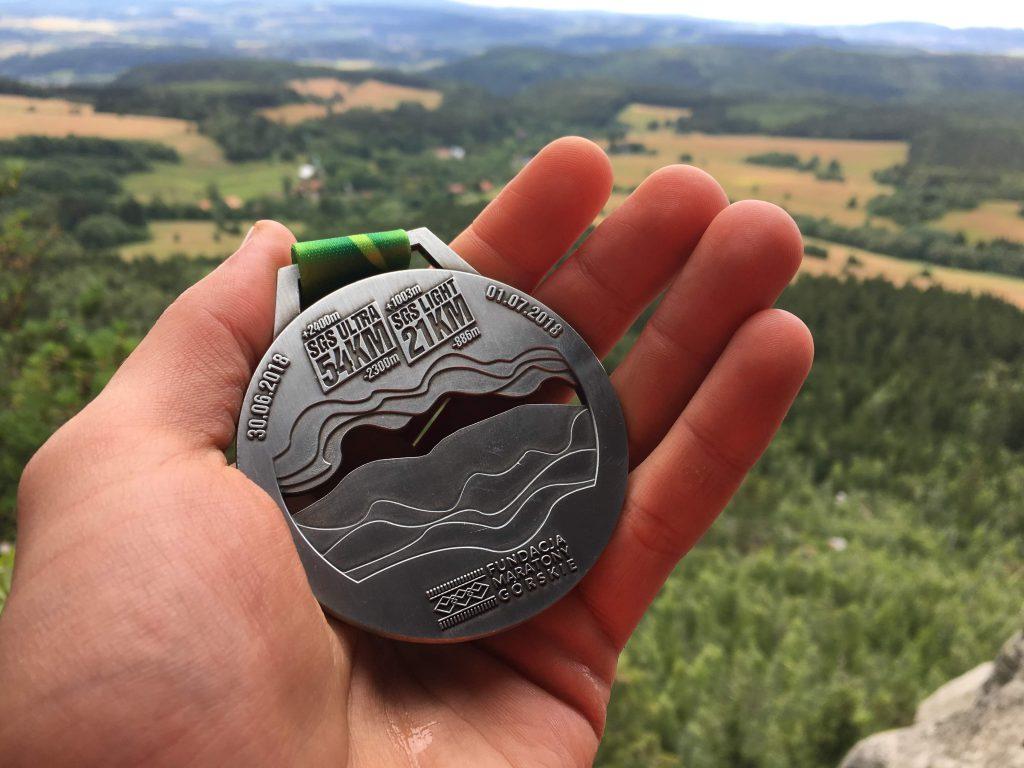SGS TeamPlutt medal