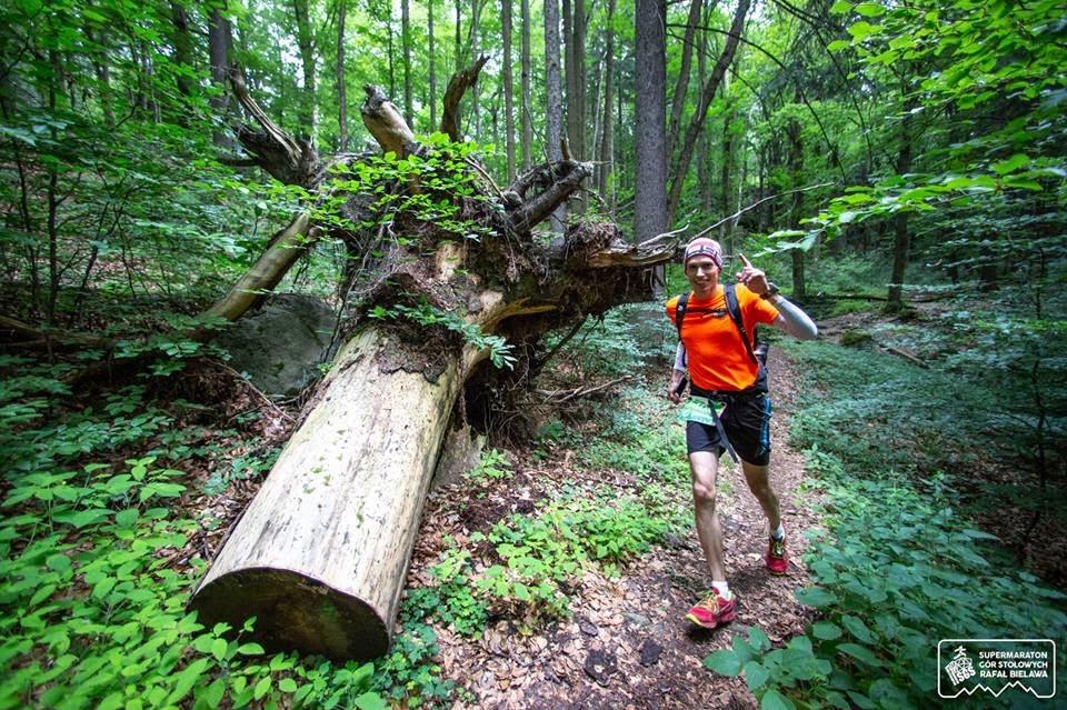Supermaraton Gór Stołowych TeamPlutt Daniel Pluta