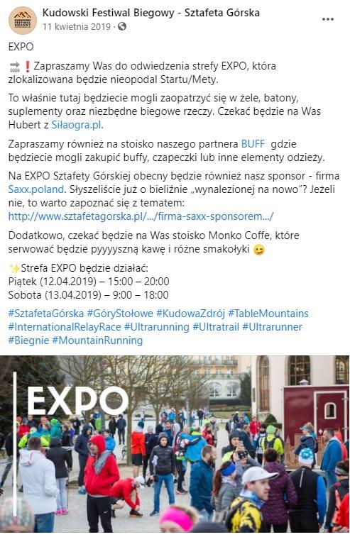 TeamPlutt Sztafeta Górska Solo Expo